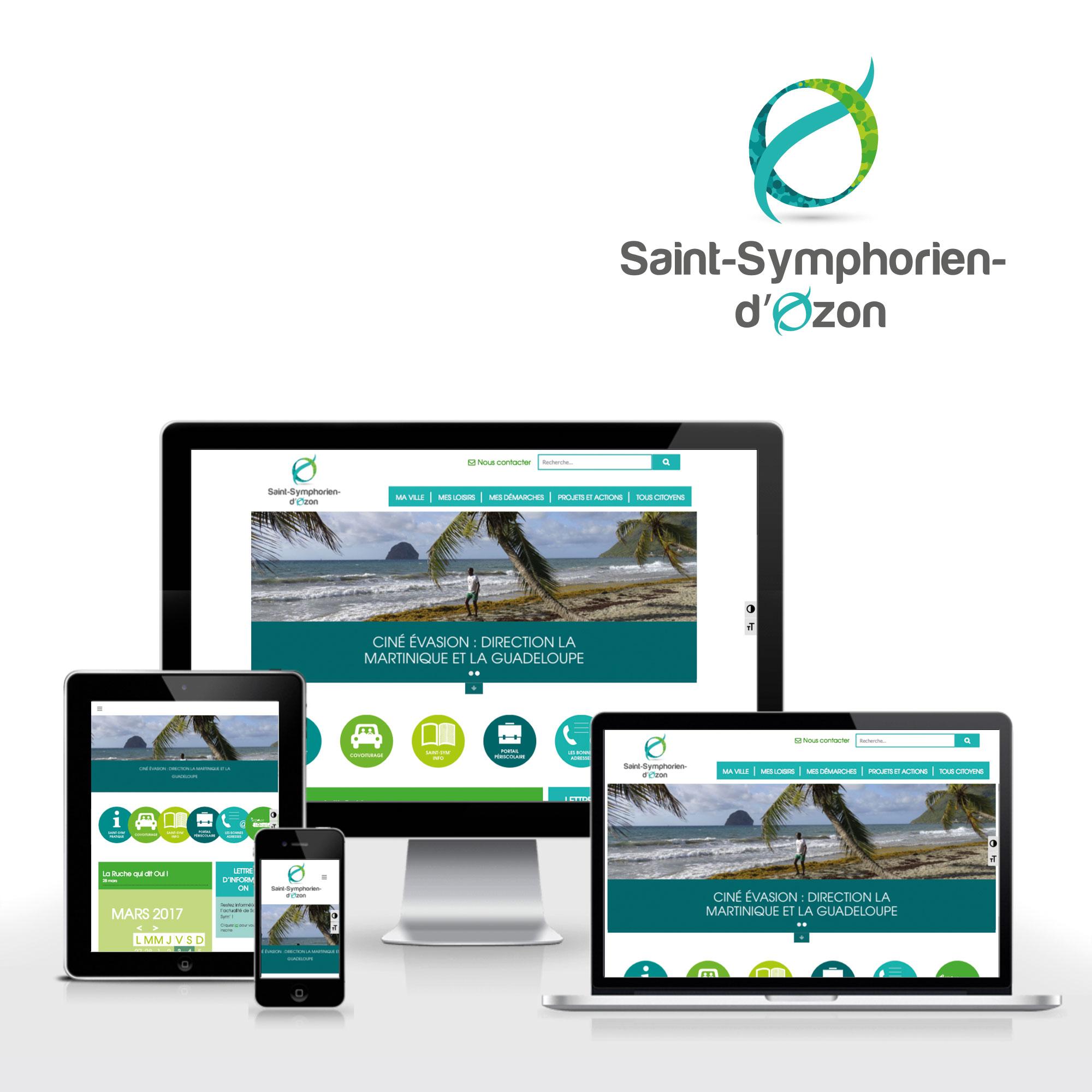 Un site pour Saint-Symphorien-d'Ozon
