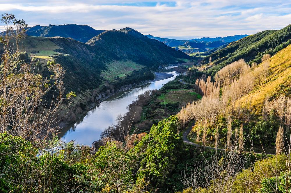fleuve Whanganui, Nouvelle-Zélande